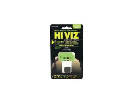 Hi-Viz Litewave Springfield XD/XD-M Green/Red/Black Interchangeable Rear Sights - XDLW11