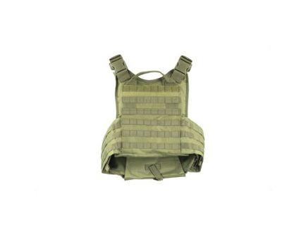 "NCSTAR Plate Carrier Vest w/ 10""x12"" Hard Plates, Size Medium-2XL, Green Nylon - CVPCV2924G"