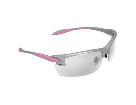 Radians Womens Glasses With Silver And Pink Frame, Clear - PG0810CS