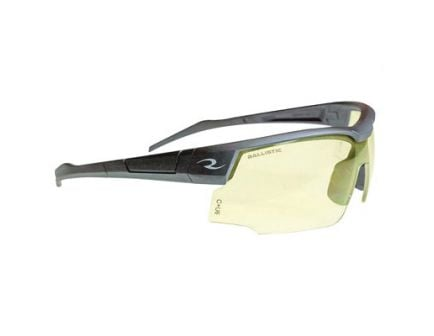 Radians Skybow Ballistic Rated Shooting Glasses With Rubberized Nosepiece, Yellow - SB01Y0CS