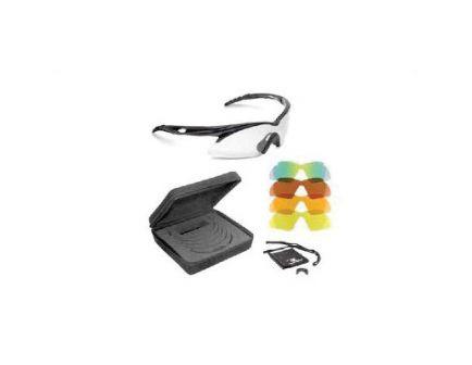 Radians Shift Interchangeable Lens Eye Protection Glasses, Black Frame - SH500CS