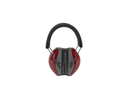 Radians Folding Terminator NRR 29 Ear Muff, Red - TR0360CS