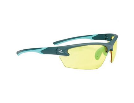 Radians Lowset Ladies Glasses With Aqua Frame, Amber - WS2340CS