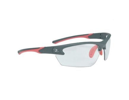 Radians Lowset Ladies Glasses With Coral And Charcoal Frame, Clear - WS6810CS