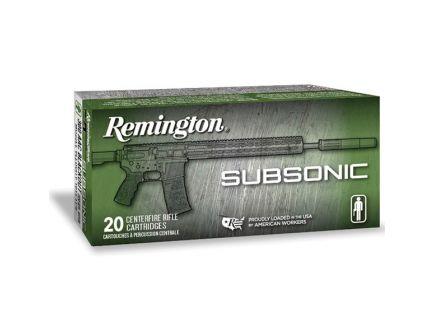 Remington Subsonic 220 gr OTFB .300 Blackout Rifle Ammo, 20/box - 28430