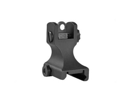 Samson Manufacturing Fixed Rear Sight Fits Picatinny, Black - FXR-A2