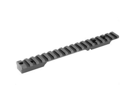 Seekins Precision 0 MOA Long Action Scope Base Fits Remington 700, Black - 0010710001