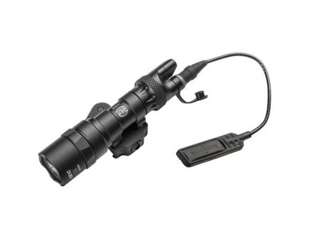 SureFire M300 Scout 3V 300 Lumen Weapon Light With ADM Mount And Dual Switch Assembly, Black - M322C-BK