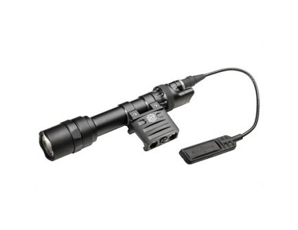 SureFire M600 Scout Light 1000 Lumen Weapon Light With RM45 Mount And Dual Switch Assembly, Black - M612U-BK