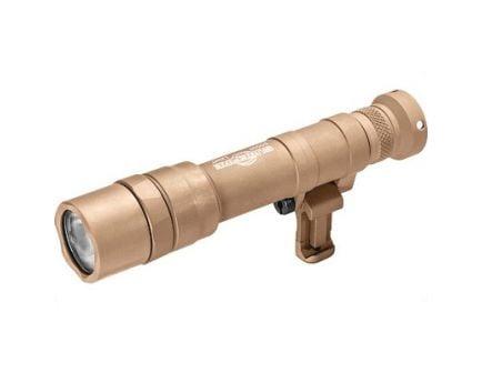 SureFire M640 Scout Pro LED 1500 Lumen Flashlight With Picatinny/M-LOK Mount And Z68 Tailcap, Tan - M640DF-TN-PRO