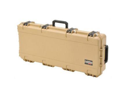"""SKB Sports 3I Series 36""""x14.5""""x5.5"""" Hard Single Rifle Case, Desert Tan- 3I-3614-6T-L"""