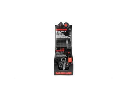 Safariland Ear Plug w/ Key Chain Storage Case, 10/Pack - TCI-10CT-IMPULSE-DSPLY