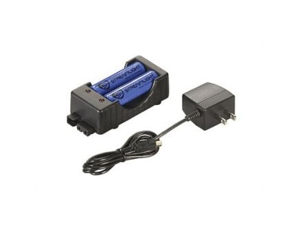Streamlight Battery Charging Cradle With Lithium Ion Batteries, Black - 22011