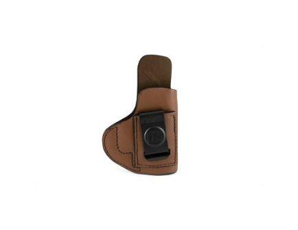 Tagua Super Soft IWB Holster Fits Glock 43, RH Brown Leather - SOFT-357