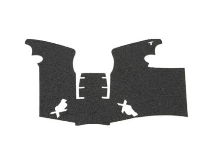 TALON Rubber Adhesive Grip Fits SP XDM Full Size 9MM & .40, Black - 205R