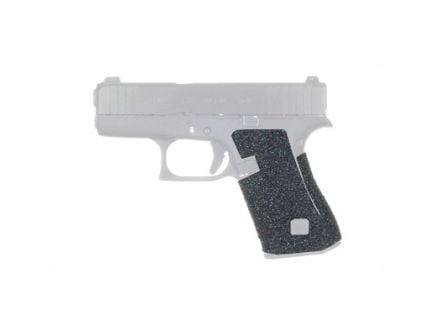 TALON Evolution Rubber Adhesive Grip Fits Glock 43X & 48, Black - 385-PRO