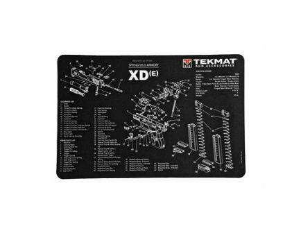 "TekMat Springfield XDE 17""x11"" Pistol Mat With Small Microfiber TekTowel, Black - R17-XDE"