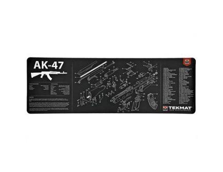 """TekMat AK-47 12""""x36"""" Rifle Mat With Small Microfiber TekTowel, Black - R36-AK47"""