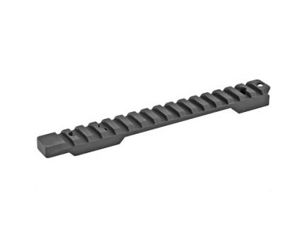 Talley  Picatinny Base w/ Includes Anti-Cant Indicator Fits Weatherby Mark V, Black - P0M705ACI
