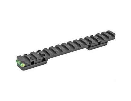 Talley  Picatinny Base w/ Includes Anti-Cant Indicator Fits Browning X-Bolt, Black - P0M735ACI