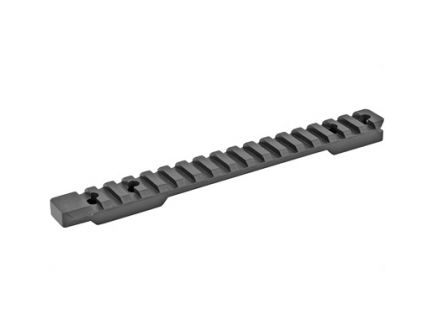Talley  Picatinny Base w/ Includes Anti-Cant Indicator Fits Savage Accutrigger, Black - PLM725ACI