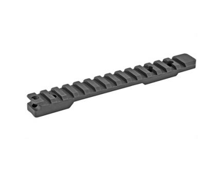 Talley  Picatinny Base w/ Includes Anti-Cant Indicator Fits Remington 700/721/722/725/40X, Black - PSM700ACI