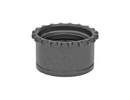 TROY Barrel Nut Fits AR-15, Black - SRAI-BNT-0000-00