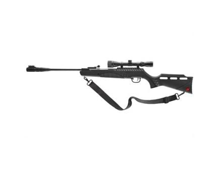 Umarex Targis Hunter Max .22 Air Rifle With 3-9x32 Scope And Silencair Non-Removable Suppressor, Black - 2244241