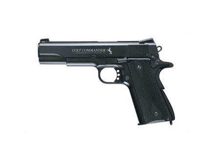 """Umarex Colt Commander 4.5"""" 325 fps .177 BB Pistol, Black - 2254028"""