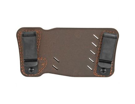 Versacarry Orion RH IWB/OWB Single Stack Holster, Distressed Brown Leather - 22103