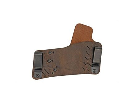 Versacarry Protector S3 RH IWB/OWB Adjustable Multi Fit Holster, Distressed Brown Leather - 52311