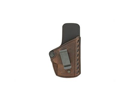 Versacarry Compound Gen II RH IWB Single Stack Subcompact Holster, Distressed Brown Leather - CE2113-1