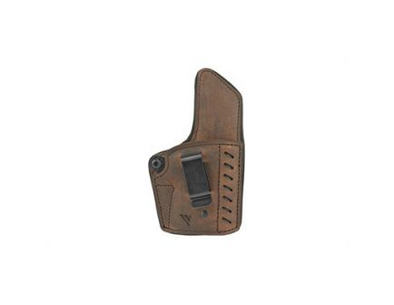 Versacarry Comfort Flex Deluxe RH IWB Holster For Most 1911 Models, Distressed Brown Leather - CFD2112-1