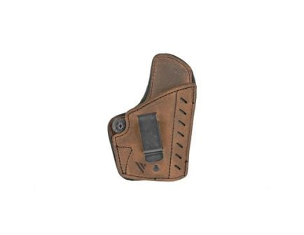 Versacarry Comfort Flex Deluxe RH IWB Holster For Sig P365/XL, Distressed Brown Leather - CFD211365