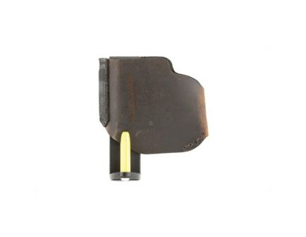 """Versacarry Pro RH IWB/OWB Holster For Extra Small 3"""" 9mm Pistols, Distressed Brown Leather - PRO9 XS"""