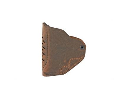 Versacarry RH IWB Holster For Smith & Wesson J Frame And Ruger LCR, Distressed Brown Leather - REV211