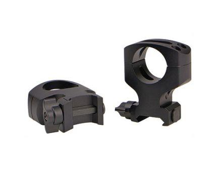"Warne Maxima Quick Detach Ultra High 1"" Scope Rings For AR-15, Matte Black - A404LM"