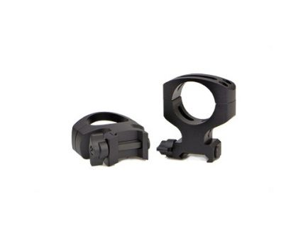 Warne Maxima Quick Detach Ultra High 30mm Scope Rings For AR-15, Matte Black - A417LM