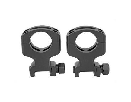 "Warne Tactical Ring Skeletonized Ultra High 1"" Skeletonized Scope Rings For AR-15, Matte Black - A430M"