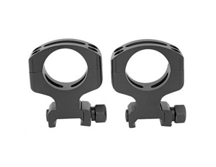 Warne Tactical Ring Skeletonized Ultra High 30mm Skeletonized Scope Rings For AR-15, Matte Black - A431M
