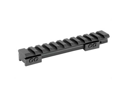 Warne 1 Piece Picatinny Base For Ruger Mini 14/30, Black - A971M