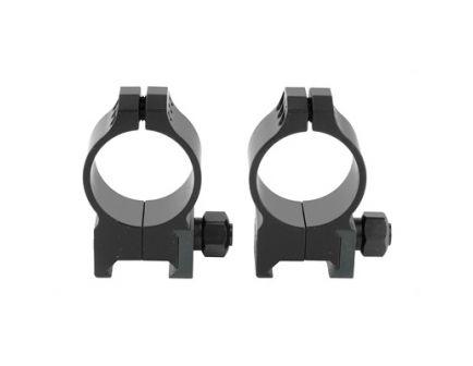 Warne Tactical Ring Medium 30mm Scope Rings, Black - 614M