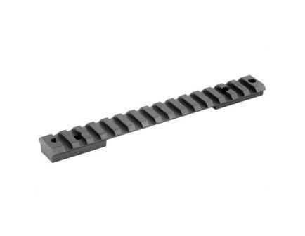 Warne Tactical 1 Piece Steel Scope Base For Weatherby Mark V Magnum 9 Lug, Black - M654M