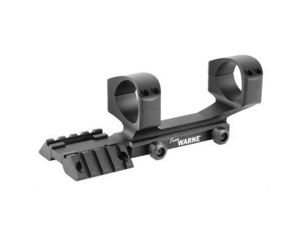 Warne RAMP 1 Piece Multi Sight Platform For AR-15 With 34mm Scope Rings, Black - RAMP34