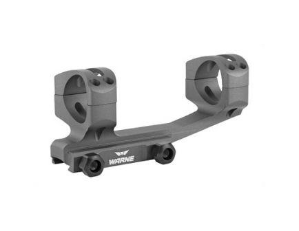Warne Generation 2 Extended Skeletonized 1 Piece 30mm Scope Mount For AR Platform, Gray - XSKEL30TG