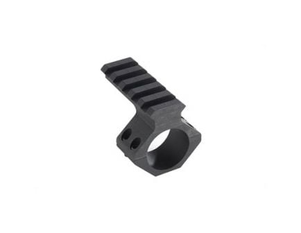"""Weaver Tactical Thumbnut 1"""" Scope Mount With Picatinny Adapter, Black - 48370"""