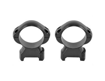 Weaver Grand Slam High Picatinny Compatible 30mm Scope Rings, Matte Black - 49309