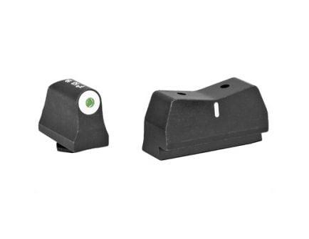 XS Sights DXT Big Dot Green Front Rear Stripe Suppressor Height Night Sight Set For Glock Models - GL-0004S-3