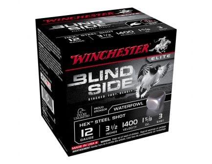 """Winchester Blind Side 3.5"""" 12 Gauge Ammunition, 25rds - SBS12L2"""