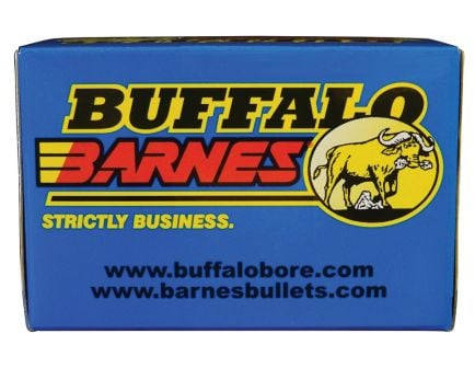 Buffalo Bore Premium Supercharged 35 Whelen 225 grain Barnes TSX Lead-Free Rifle Ammo, 20/Box - 42B/20